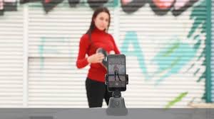 <b>Auto Smart Shooting</b> Selfie Stick 360° Object Tracking Holder <b>All</b> in ...