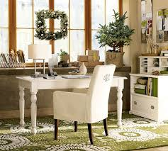 chic home office decor:  home office decor accessories chic home office style design white chair white wooden table