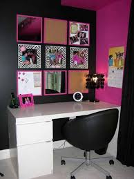 black and pink bedroom furniture young girls bedroom design ideas modest study area for teenage bedroomlovely comfortable computer chair