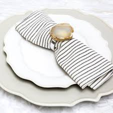 <b>Napkin Rings</b> | <b>Luxury</b> Tableware - Amara