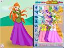 Игры раскраски и одевалки винкс