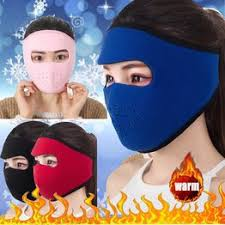 Warm Fleece Bike Full Face Mask Cover Face Hood ... - Vova