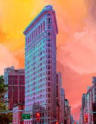 Image result for flat iron building