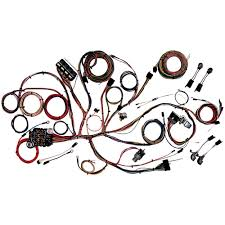 american autowire 510125 mustang comp wiring classic kit 1965 1966 american autowire complete wiring harness classic update kit 1965 1966