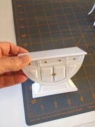 dollhouse miniature bespaq art deco dining room suite set white 7 pcs wow ebay art deco dining 7