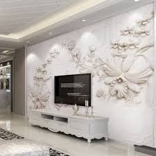 online get cheap custom wall murals com alibaba group wall mural custom for walls 3 d european style solid color abstract stereoscopic relief flower wall papers home decor