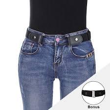 <b>AWAYTR Unisex Buckle-Free Elastic</b> Belt For Jeans Pants Dress ...