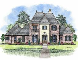 Madden Home Design   French Country house plans  Acadian house plansThe Orleans