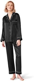 SIORO <b>Women Pajamas</b> Set <b>Satin Long</b> Sleeve <b>Silk Pajamas</b> for ...
