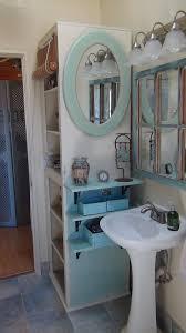 sink bathroom plumbing bathrooms exquisite custom blue floating open shelf under oval green mirror frames and bathroomexquisite images kitchen lighting