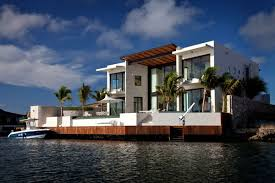Contemporary Style Homes   Modern House Designs   Page Luxury Coastal House Plans on Florida Island Paradise