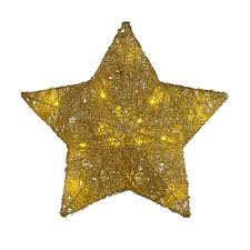 home accents holiday in battery operated star gold tree top battery operated star gold tree top