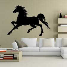 diy home office wall sticker horse black room decor house modern decoration wall paper mural decal aliexpresscom buy office decoration diy wall