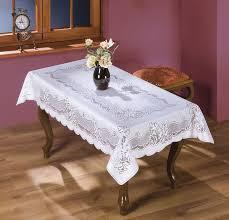 """<b>Скатерть Wisan</b> """"Wojciech"""", прямоугольная, цвет: белый, 130 x ..."""