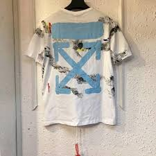 Big Discount <b>Off White Printing</b> Ink Arrow White Color T-shirt 2018 ...