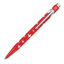 <b>Caran D`ache Essentially Swiss</b> Collection Ballpoint Pen <b>Swiss</b> Flag ...