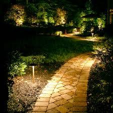 outdoor landscape lighting ideas backyard landscape lighting