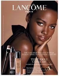 Well Played Ad: Lupita Nyong'<b>o for Lancome</b> - Go Fug Yourself