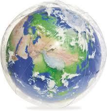 <b>Мяч надувной</b> с подсветкой <b>Bestway</b> 31045 Земля, 61 см — купить ...