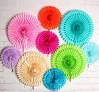 Wholesale <b>Tissue</b> Paper Fans <b>Pinwheels</b> - Buy Cheap <b>Tissue</b> Paper ...