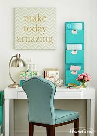 while it is obviously beneficial to keep your home office organized and as clutter free blue office decor