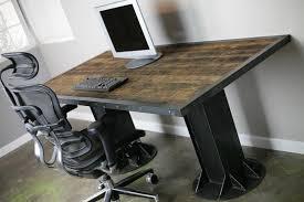 industrial style office desk modern industrial desk industrial office desk custom made modern industrial i beam carruca desk office