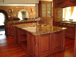 countertops granite marble:  kitchen countertops large size kitchen light brown sandstone countertop above white wooden kitchen island and