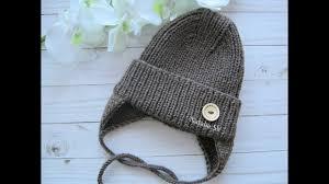 <b>Детская шапочка</b> спицами с модной макушкой. Осенне-весенняя ...