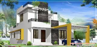 Small Modern House In Kerala   Homemini s comAgreeable Contemporary House Designs Plans Modern Home Design Photos Hovgallery Floor
