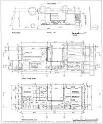 barton myers wolf residence site plan and floor architecture drawing floor plans