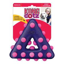 <b>Игрушка</b> для собак <b>KONG Dotz</b> треугольник малый 11 см ...