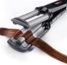<b>Тройная плойка для волос</b> (51 фото): волнистые щипцы для ...