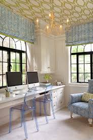 ceiling light fixture home office transitional with arched windows chandelier patterned image by annsley interiors ceiling lighting fixtures home office