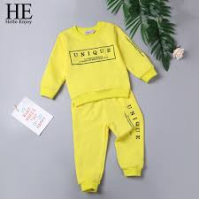 <b>HE Hello Enjoy Toddler</b> Boys Clothing Set Autumn Casual Long ...