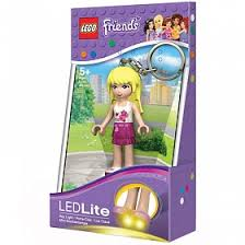<b>Брелок</b>-фонарик для ключей <b>Lego Friends</b> - <b>Стефани</b>