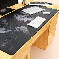 Extra Large Mouse Pad <b>World Map</b> Mousepad <b>Anti slip</b> Natural ...