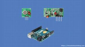 Using <b>433MHz RF</b> Modules with Arduino   DroneBot Workshop