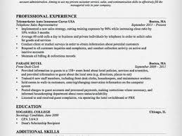 Collection Telephone Customer Service Resume Pictures   Free
