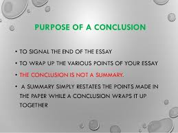 writing introductions and conclusions  some top tips   purpose of a conclusion