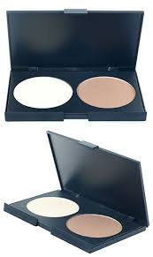 pressed powder face contour anti wrinkle compact brightening bronzing natural palette concealer