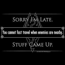 Fast Travel <b>T</b>-<b>Shirt</b> | <b>Skyrim</b> funny, <b>Skyrim</b> quotes, <b>Skyrim</b> memes