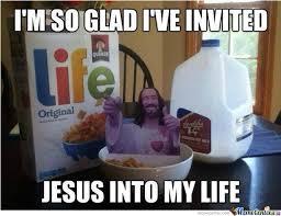 I'm So Glad I've Invited Jesus Into My Life!! by christianmemes ... via Relatably.com