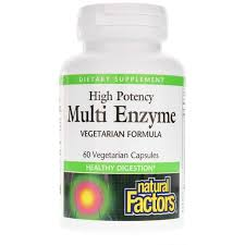<b>High Potency Multi Enzyme</b>, Natural Factors