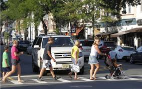 Image result for pedestrian and car