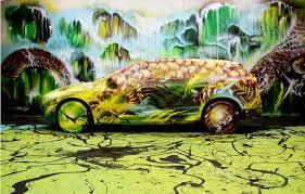 <b>Volvo</b> Art Session 2012 - Hua Tunan | Art, <b>Splatter</b> art, Street art