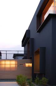 Best Fachadas Images On Pinterest - Black window frames for new modern exterior