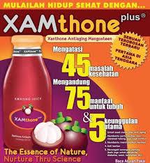 XAM thone Plus Jus Manggis