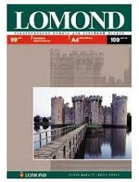 Купить <b>Фотобумага Lomond</b> 0102001 <b>A4</b>/<b>90г</b>/<b>м2</b>/100л./белый ...