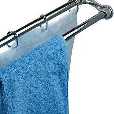 Штанги для шторы в ванную: телескопические, угловые ...