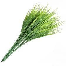 <b>5Pcs</b>/<b>Set Artificial Grass Plant</b> Decorative Bendable Fake Grass ...